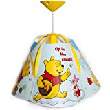 Disney® Winnie the Pooh Children Kids Ceiling Pendant Light + Lamp Shade Lampshade (Complete Fittings)