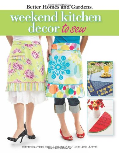 Weekend Kitchen Décor to Sew: Better Homes and Gardens