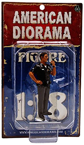 Police Officer Jake Figure For 1:18 Scale Models by American Diorama 23841