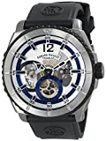 Armand Nicolet Mens T619A-AG-G9610 L09 Limited Edition Titanium Sporty Hand Wind Watch