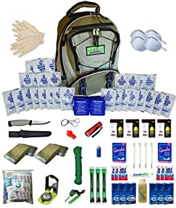 Extreme Survival Kit for Four People by Zippmo Survival Gear