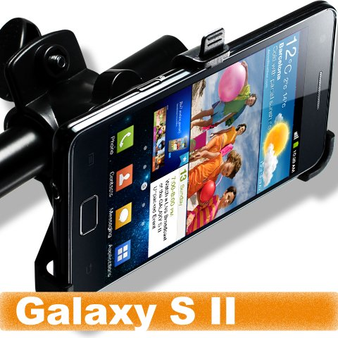 [Aftermarket Product] Brand New Bicycle Bike Mount Holder Clip FOR Apple Samsung GT-i9100 i9100 Galaxy S II 2