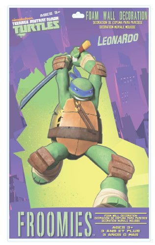 Teenage Mutant Ninja Turtles Leonardo Foam Wall Decoration, 18-Inch - 1
