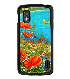 Colourful Painting 2D Hard Polycarbonate Designer Back Case Cover for LG Nexus 4 E960 :: LG Nexus 4 :: LG Mako