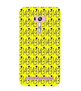 EPICCASE tricky love Mobile Back Case Cover For Asus Zenfone Selfie (Designer Case)