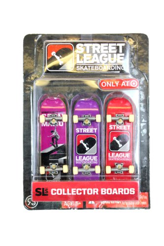 Street League Skateboarding 3 Pack Purple Purple Red Pack Layout - 1