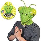 Praying Mantis Adult Costume Latex Mask