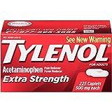 Tylenol Extra Strength Caplets, 225 Count