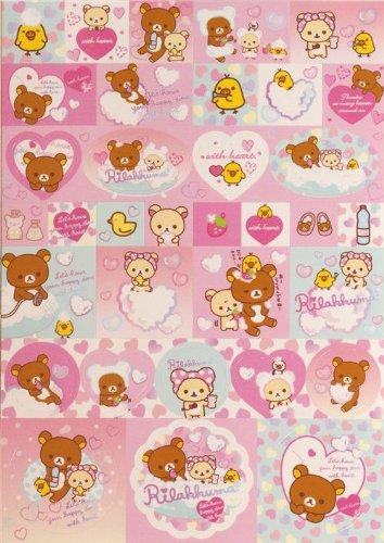Imagen 5 de Bloc de notas Rilakkuma con osos y un pollito en la bañera