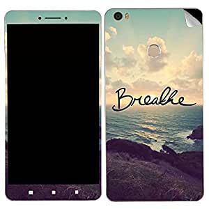 Theskinmantra Breathe Xiaomi MI Max SKIN/STICKER