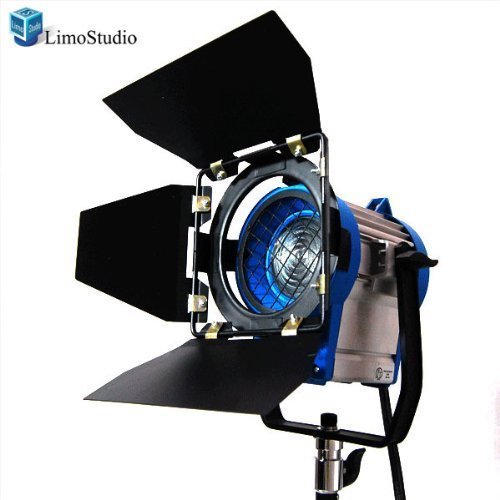 LimoStudio 300 Watt Photography Studio Light Photo Video Film and Television Tungsten Fresnel Continuous Lighting Spotlight, AGG1024