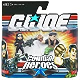 GI Joe Combat Heroes 2-Pack Baroness and Flint