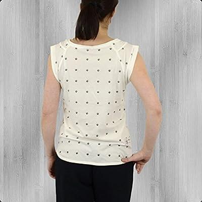 Yakuza Premium Damen Oversized T-Shirt Skullies GS 1846 B weiss - sehr weit geschnitten