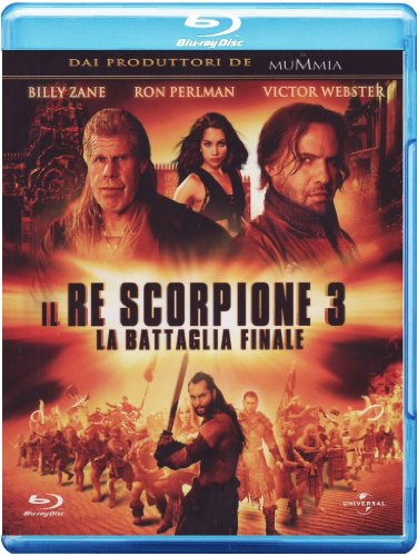 Il Re Scorpione 3 - La battaglia finale [Blu-ray] [IT Import]