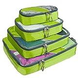 G4Free トラベルポーチ 4点セット ワイシャツケース オーガナイザー 出張 旅行 ケース ポーチ 整理整頓 スーツケース インナーケース キャリーバッグ 全4色