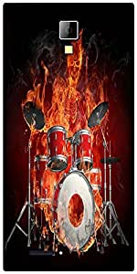 Snoogg Mummy'S Drum and Bass Night Designer Protective Back Case Cover For Micromax Canvas Express A99