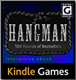 Hangman Kindle Game, Free Download, Available Worldwide, Interactive E-Book Content (Theme: Bestsellers) (WiFi/3G NOT required, Interactive eBook Content)