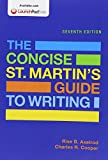 img - for The Concise St. Martin's Guide to Writing & Writer's Help 2.0 for Hacker Handbooks (Twelve Month Access) book / textbook / text book