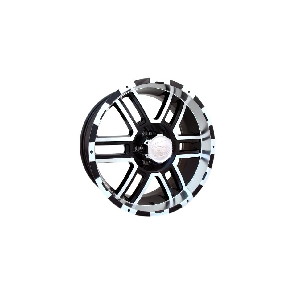17x9 ION Alloy Style 179 (Black / Machined) Wheels/Rims 5x139.7 (179