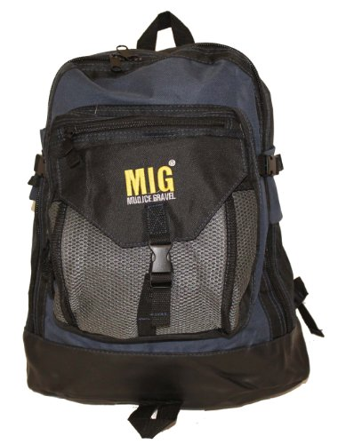 Mens Large Black Backpack Rucksack Bag For Work Travel Camping Sports School Fishing
