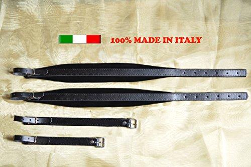 Tracolla cinghie cinte fisarmonica accordion straps 6 cm MADE IN ITALY 100%