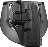 BlackHawk® CQC™ Carbon Fiber Holster Matte Finish Glock 19 / 23 / 32, BLACK, RH