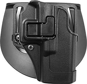 BlackHawk® CQC™ Carbon Fiber Holster Matte Finish Glock 19 / 23 / 32, BLACK, RH