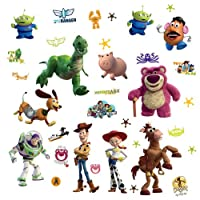 RoomMates RMK1428SCS Toy Story Peel & Stick Wall Decals Glo-in Dark by RoomMates