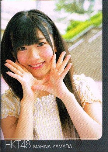 山田 麻莉奈 キラカード HKT48 HKT48 トレーディングコレクション hkt48-r155