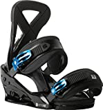 Burton Custom Snowboard Bindings, Black - Large
