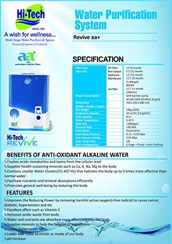 Hi-Tech-(RO+UV+UF)-Reviveaa+-Water-Purifier