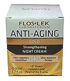 Flos-Lek Laboratorium Gold Strengthening Night Cream 1.7 fl.oz. / 50 ml e