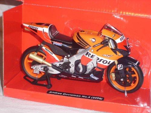 Honda Repsol Rc212v Rc 212 Rc 212 2009 Dovizioso Nr 4 1/12 New Ray Motorradmodelle Motorrad Modelle