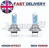H7 8500K XENON EFFECT 100W HEADLIGHT BULBS YAMAHA YZF R6 KTM 990 RC8 SuperDuke