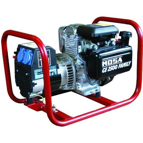 Mosa 53100-16 Generatore Serie Ge Ge 2500-Fam, Benzina, 2.3 KvA