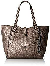 Jessica Simpson Sienna Tote Bag, Pewter, One Size