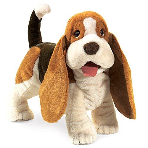 Folkmanis Basset Hound Hand Puppet