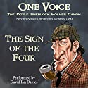 The Sign of the Four (       UNABRIDGED) by Arthur Conan Doyle Narrated by David Ian Davies