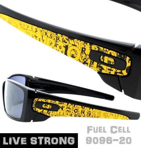 oakley fuel cell polarized sunglasses  oakley live strong