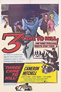 3 Came to Kill Movie Poster (11 x 17 Inches - 28cm x 44cm) (1960) Style A -(Cameron Mitchell)(John Lupton)(Lyn Thomas)(Logan Field)(Steve Brodie)