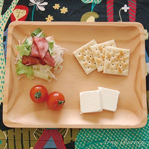 ランチプレート 木 プレート 皿 【仕切り無し】 プレート 木製 WOOD KITCHEN ウッドキッチン