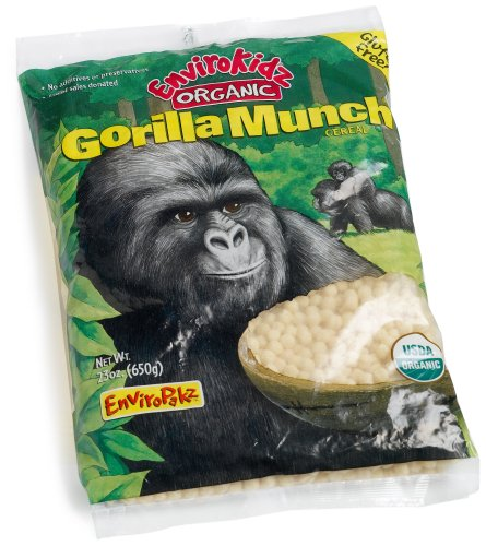Envirokidz Organic Gorilla Munch Enviropakz, 23-Ounce Bags (Pack of 3)