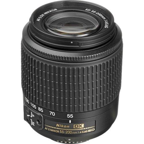 Nikon 55-200Mm F4-5.6G Ed Af-S Dx Nikkor Zoom Lens