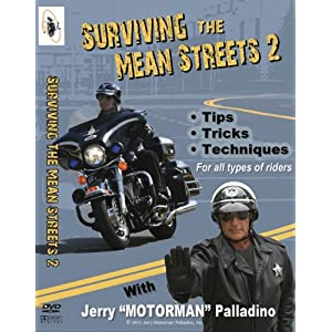 """Jerry """"Motorman"""" Paladino, Surviving the Mean Streets DVD"""