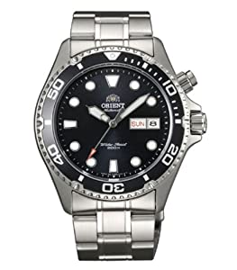 Orient Black Ray Automatic Dive Watch CEM65008B