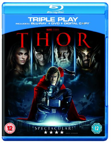 Thor – Triple Play (Blu-ray + DVD + Digital Copy)[Region