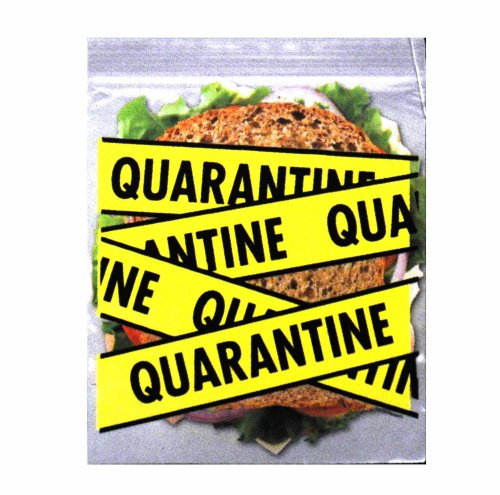 Accoutrements Crime Scene Sandwich Bags (20 Locking Bags) front-461661