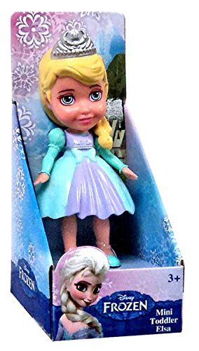 "Disney Frozen Toddler Elsa 3"" Mini Doll - 1"