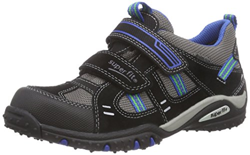 Superfit SPORT4, Sneaker bambini Nero Nero (Nero MULTI 03) 35