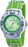Kahuna Mens Watch K1C-2003G with Green Dial and Green Fabric Strap